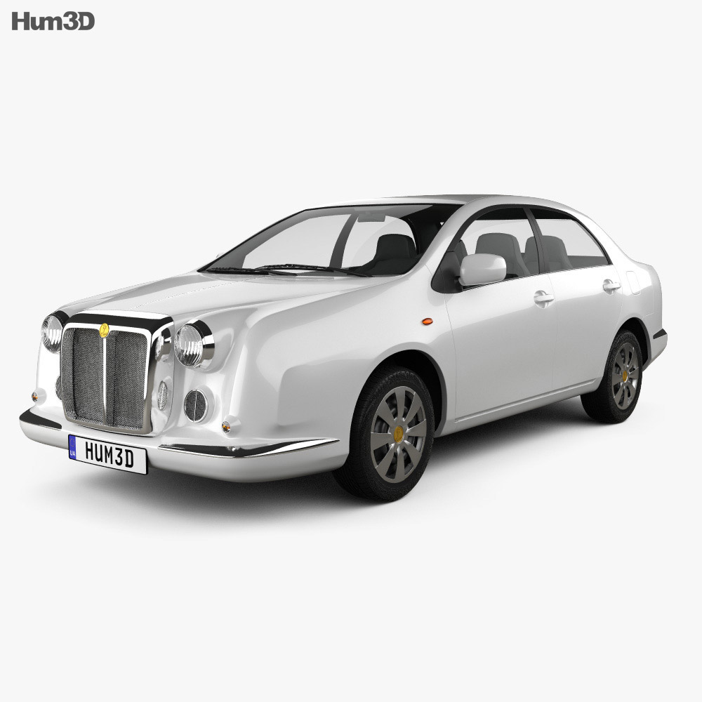 3D model of Mitsuoka Galue 204 2010