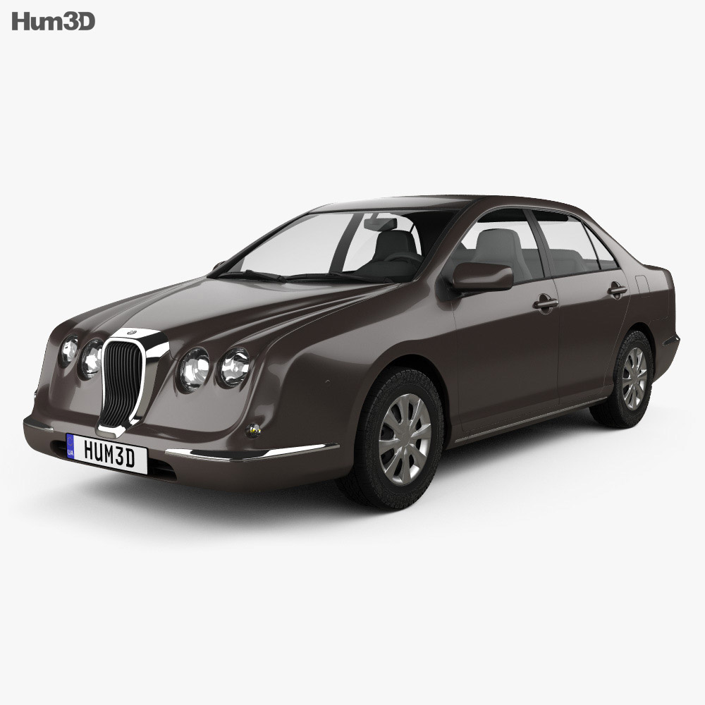 3D model of Mitsuoka Nouera 602 2008