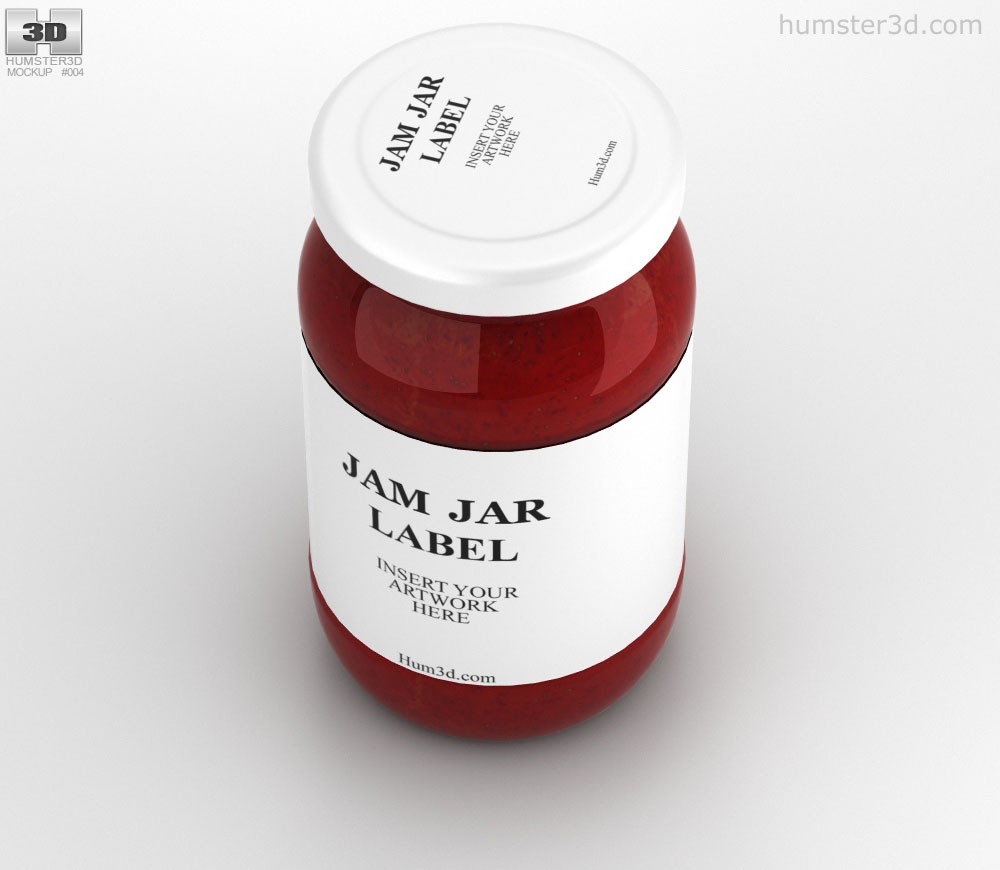 Jam Jar 3d model