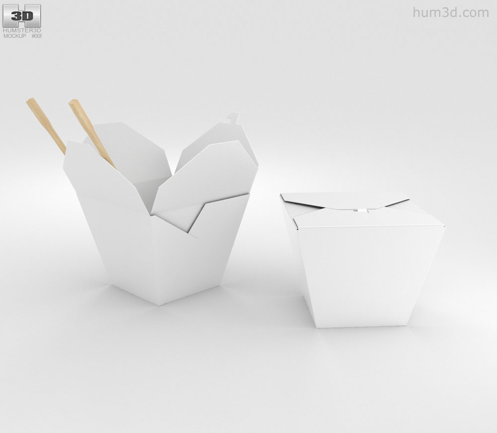 Noodles Box 3d model