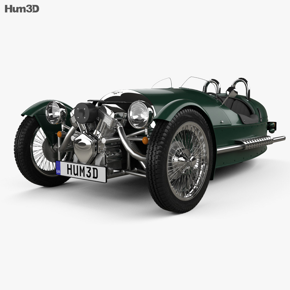 Morgan 3 Wheeler 2011 3d model