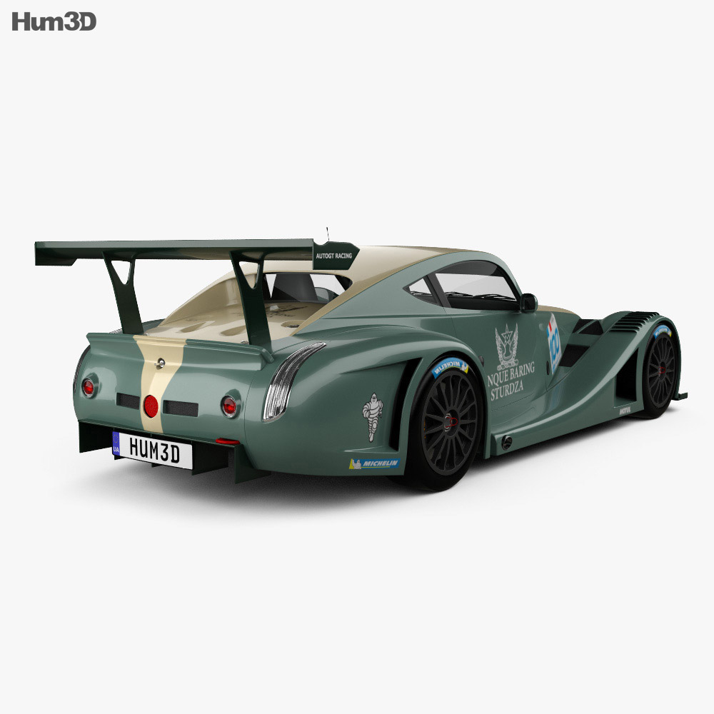 Morgan Aero 8 SuperSports GT3 2009 3d model
