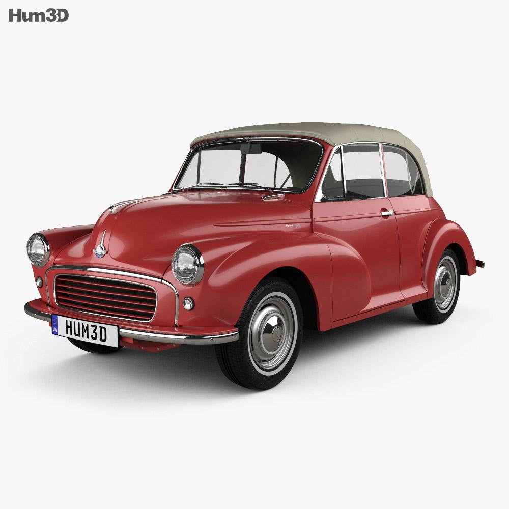 Morris Minor 1000 Tourer 1956 3d model