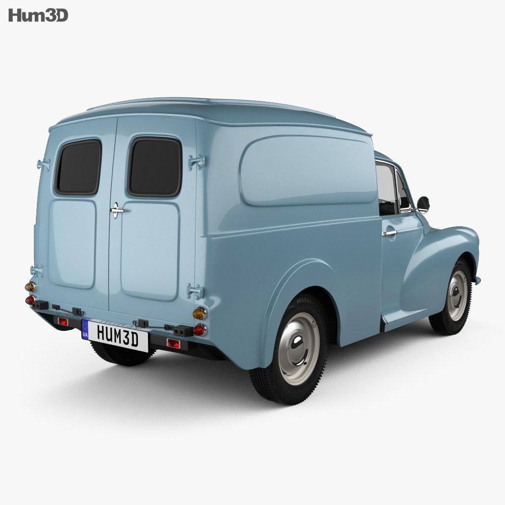 Morris Minor Van 1955 3d model