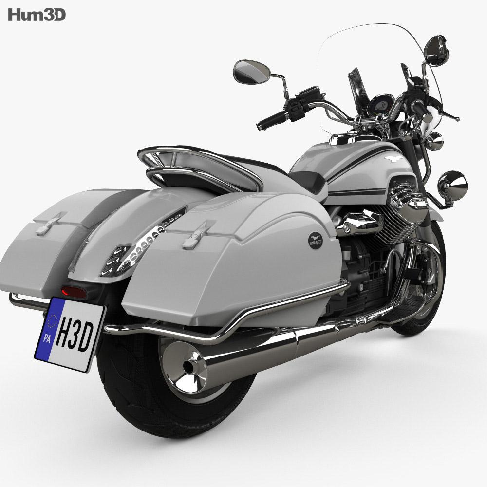 moto guzzi california 1400 touring 2015 3d model humster3d. Black Bedroom Furniture Sets. Home Design Ideas