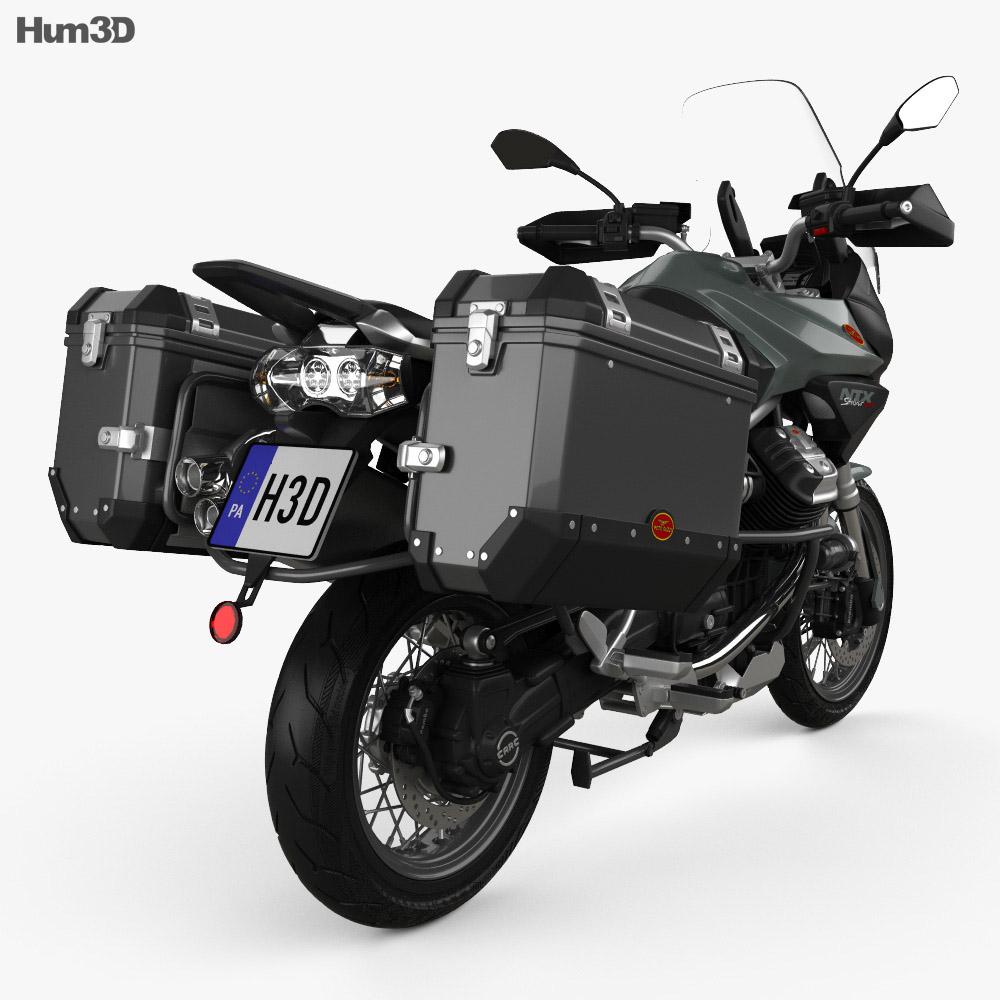 Moto Guzzi Stelvio 1200 NTX 2015 3d model