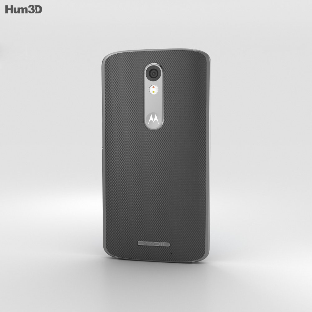 Motorola Droid Turbo 2 Gray Ballistic Nylon 3d model