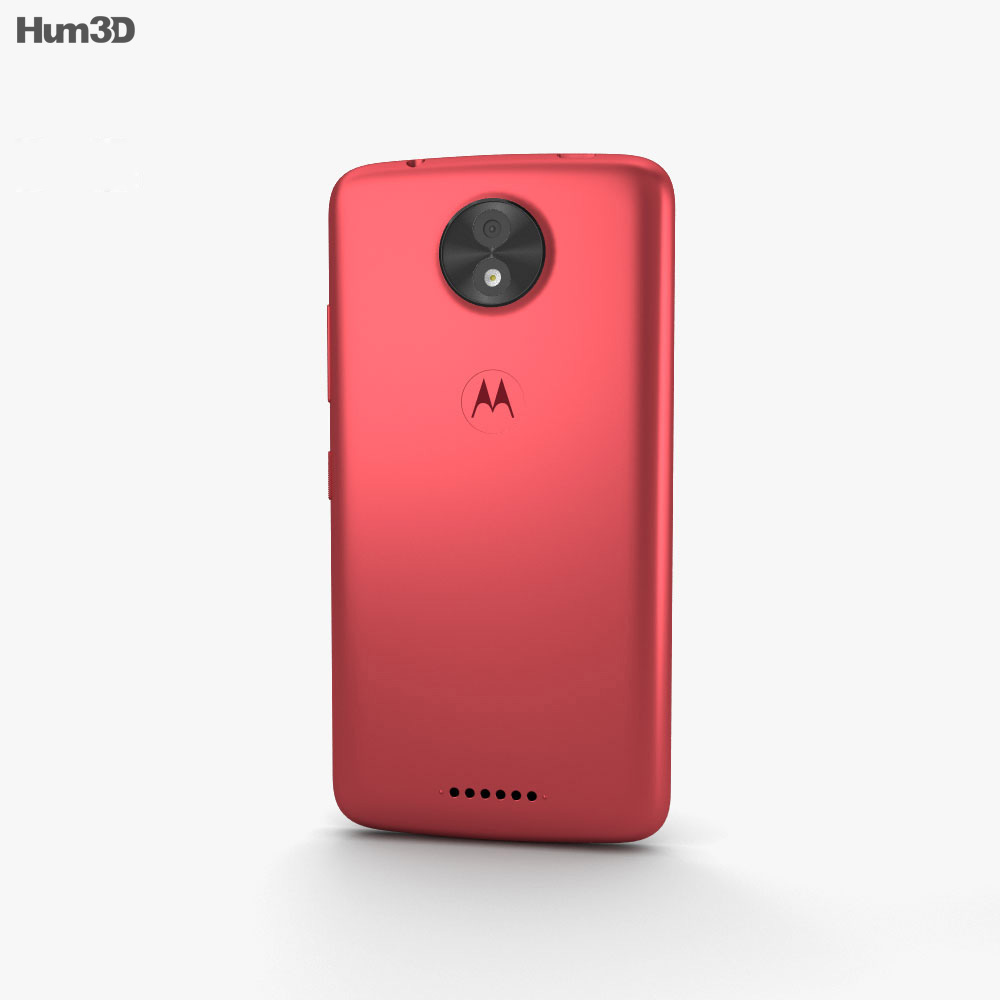 Motorola Moto C Metallic Cherry 3d model