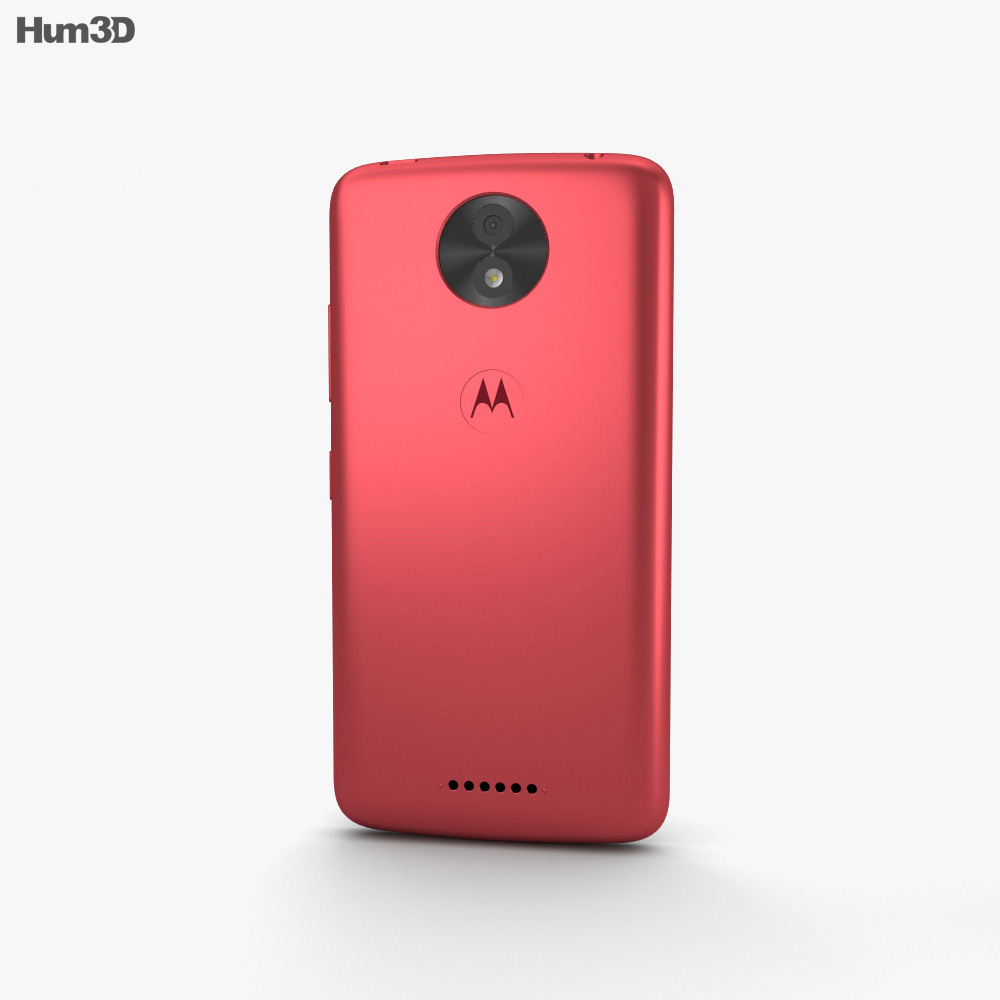 Motorola Moto C Plus Metallic Cherry 3d model