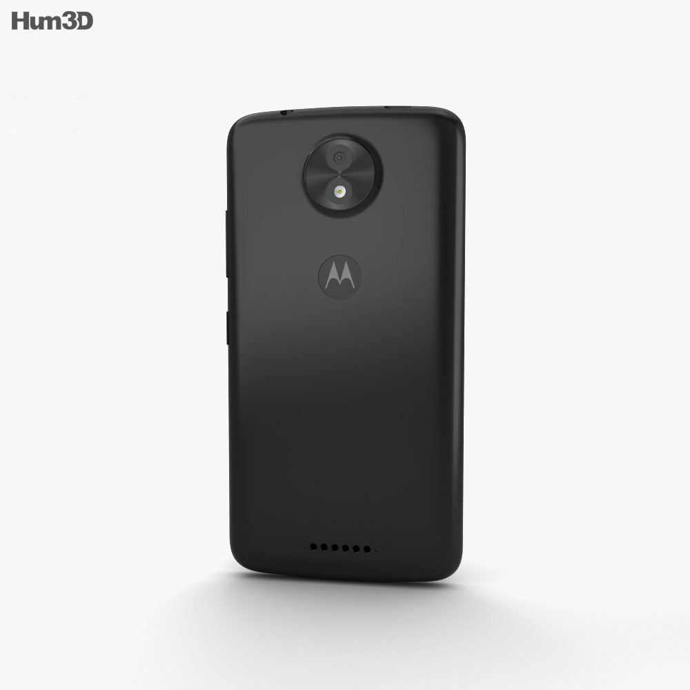 Motorola Moto C Starry Black 3d model