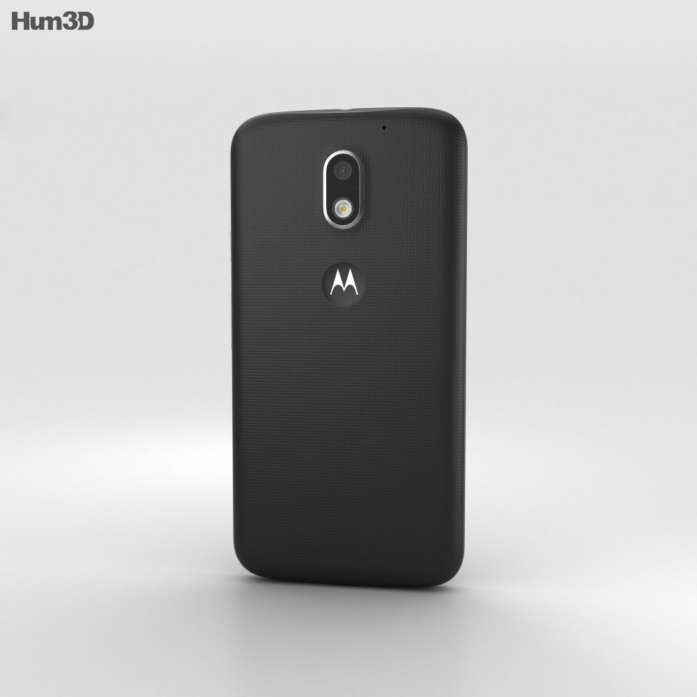 Motorola Moto E3 Power Black 3d model
