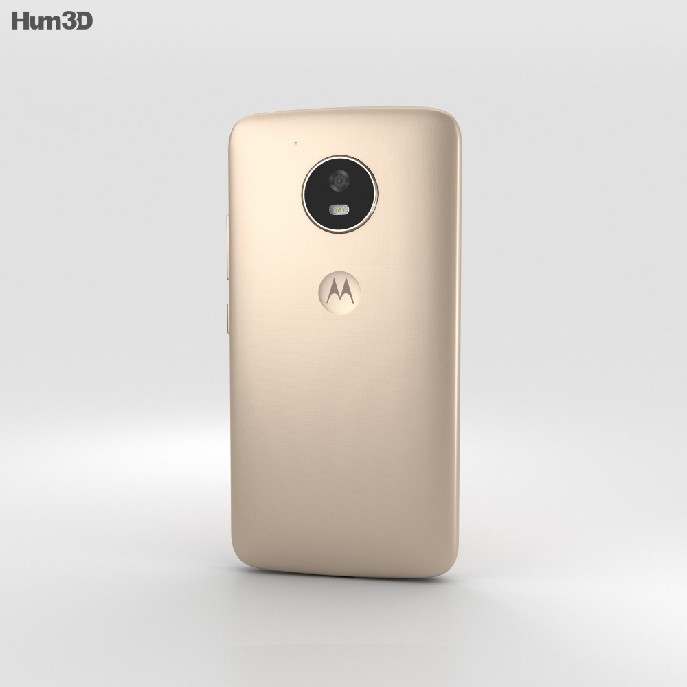 Motorola Moto E4 Fine Gold 3d model