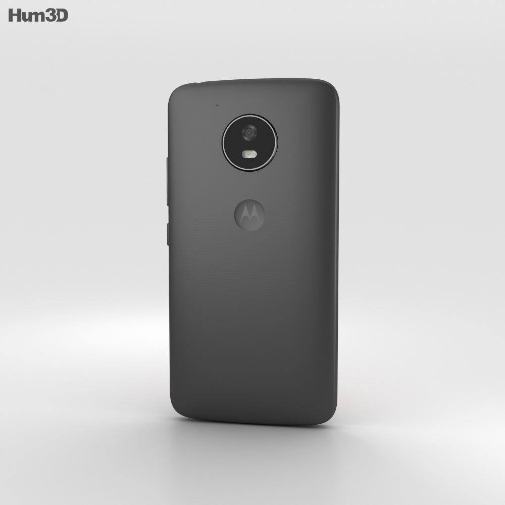 Motorola Moto E4 Licorice Black 3d model
