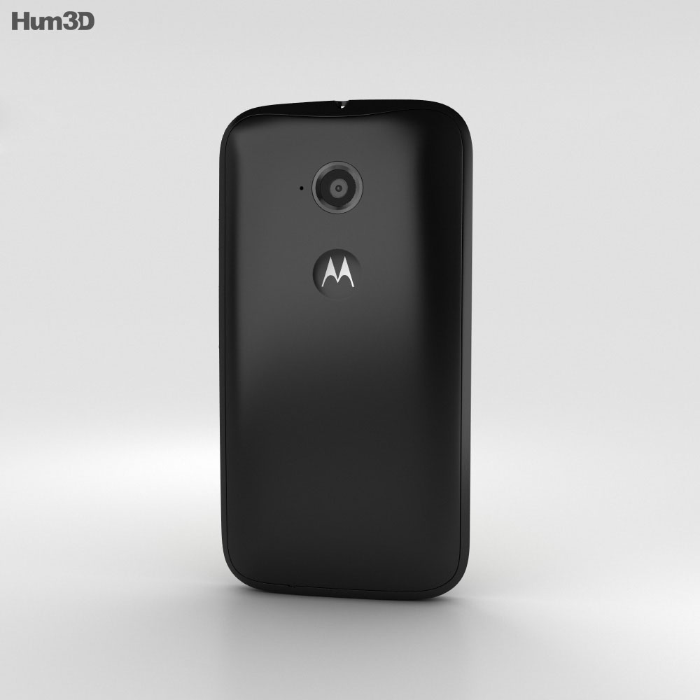 Motorola Moto E (2nd Gen.) Black 3d model