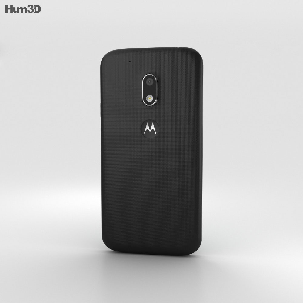 Motorola Moto G4 Play Black 3d model