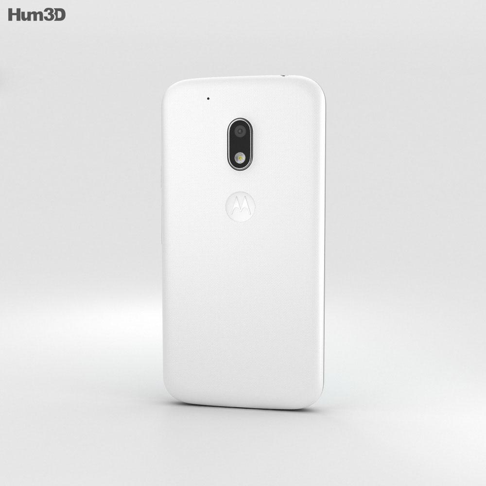 Motorola Moto G4 Play White 3d model