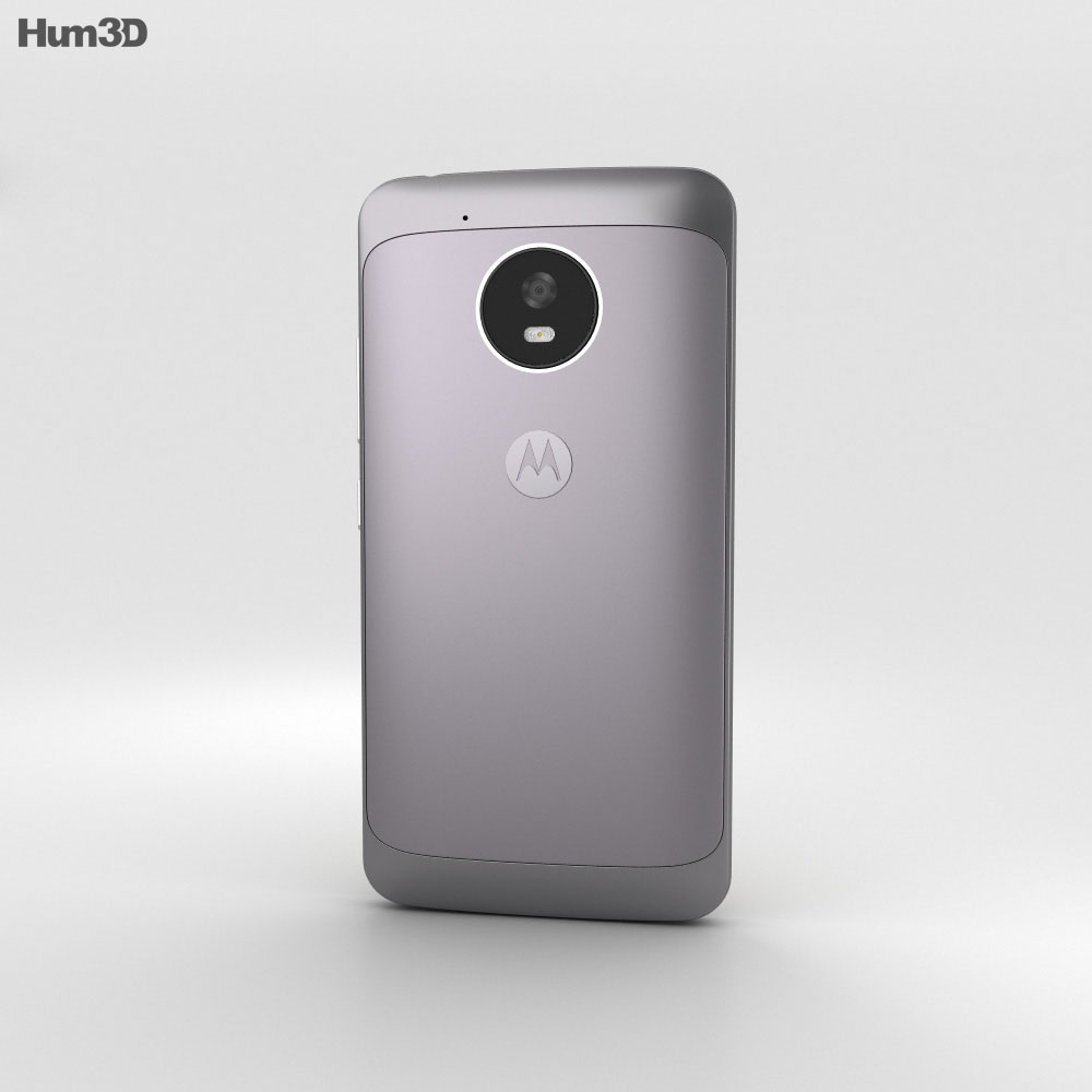 Motorola Moto G5 Lunar Grey 3d model