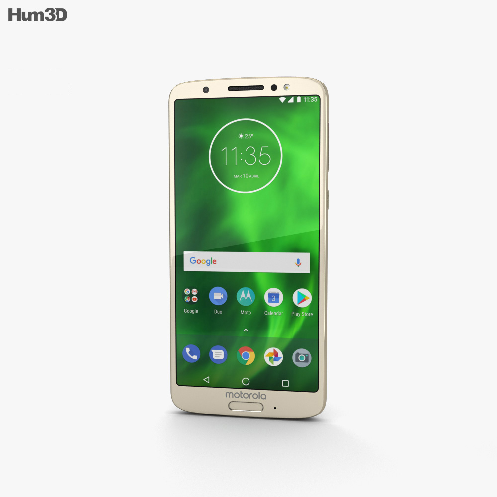Motorola Moto G6 Blush 3d model