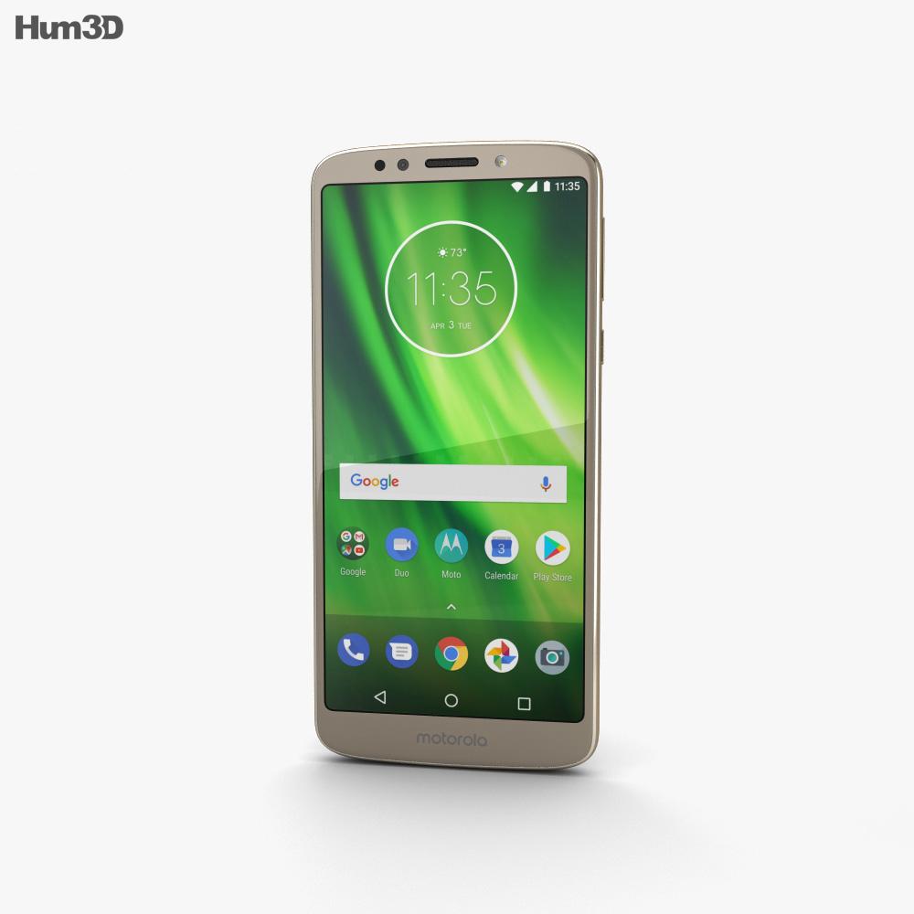 Motorola Moto G6 Play Gold 3d model