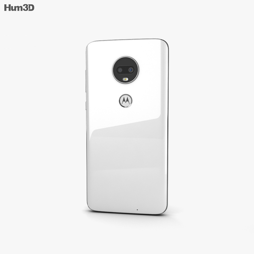 Motorola Moto G7 Clear White 3d model
