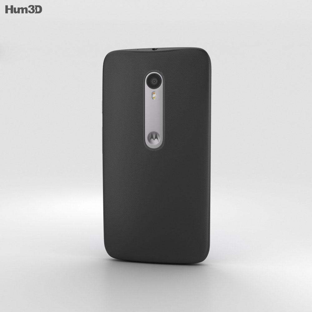 Motorola Moto G (3rd Gen) Black 3d model