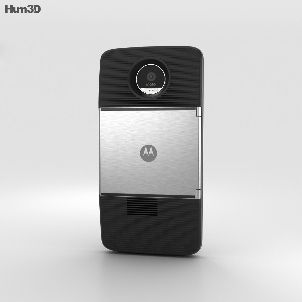 Motorola Moto Z with Insta-Share Projector 3d model