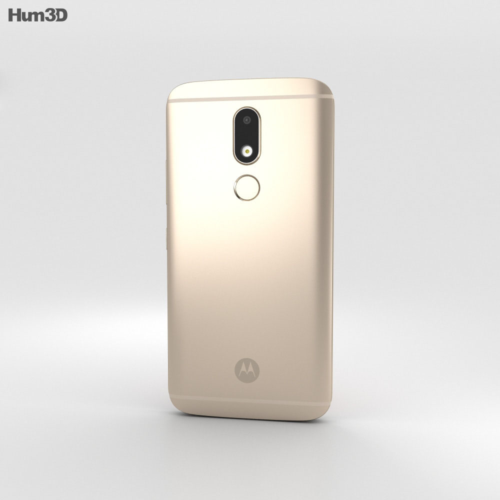 Motorola Moto M Gold 3d model