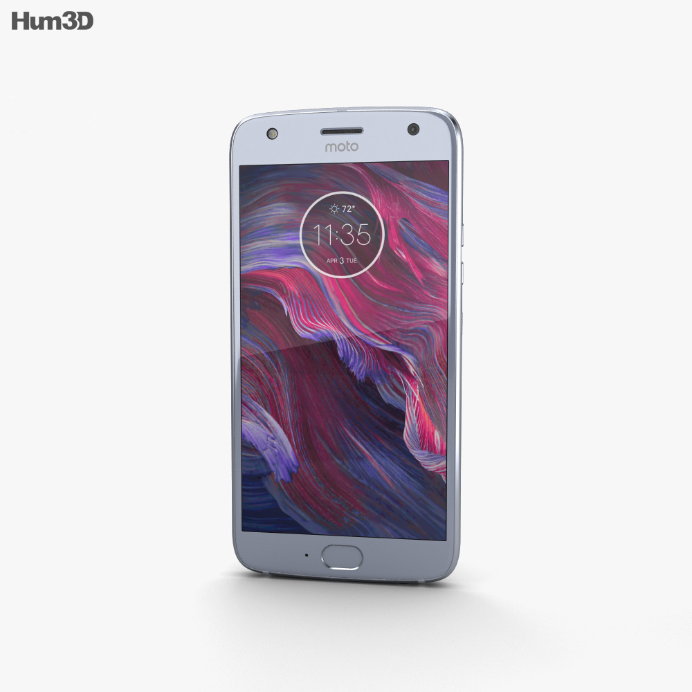 Motorola Moto X4 Sterling Blue 3d model