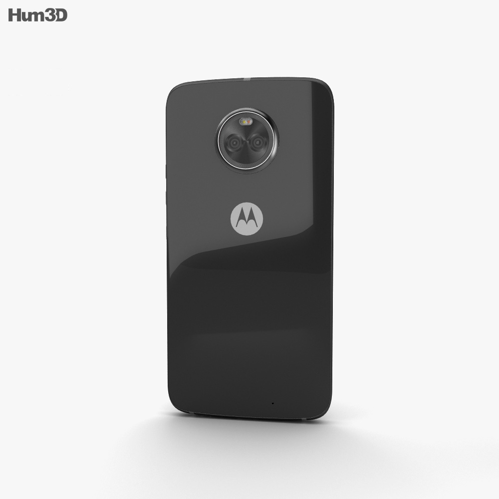 Motorola Moto X4 Super Black 3d model