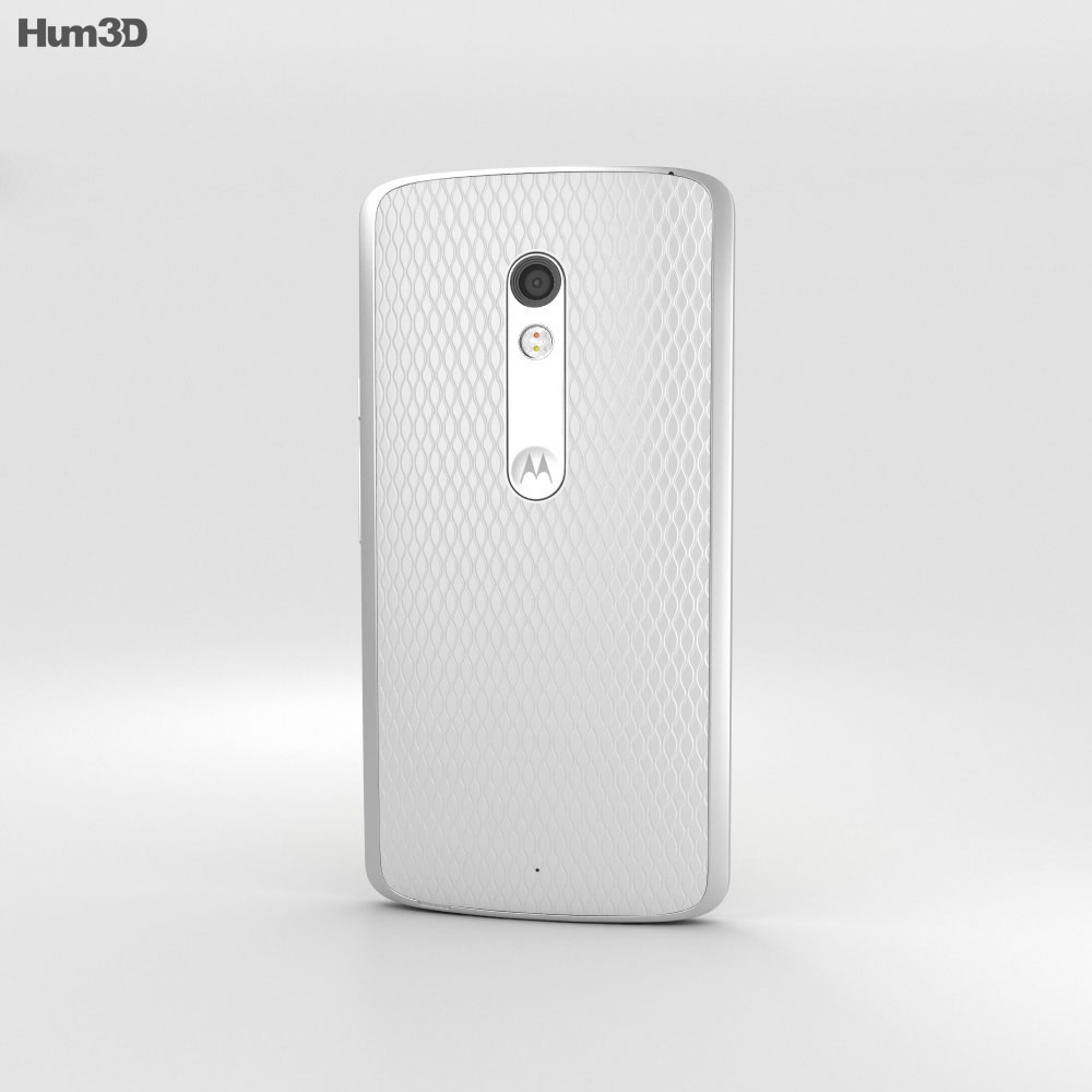 Motorola Moto X Play White 3d model