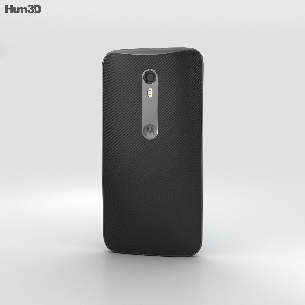 Motorola Moto X Style Black 3d model