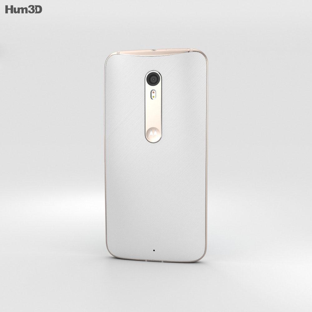 Motorola Moto X Style White 3d model