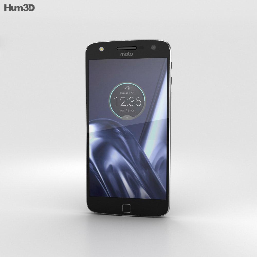 Motorola Moto Z Play Black 3d model