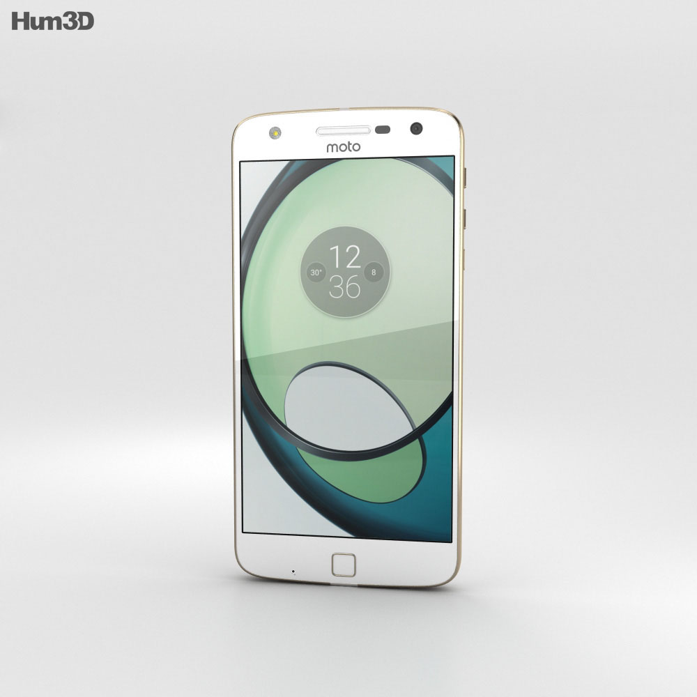 Motorola Moto Z Play White 3d model