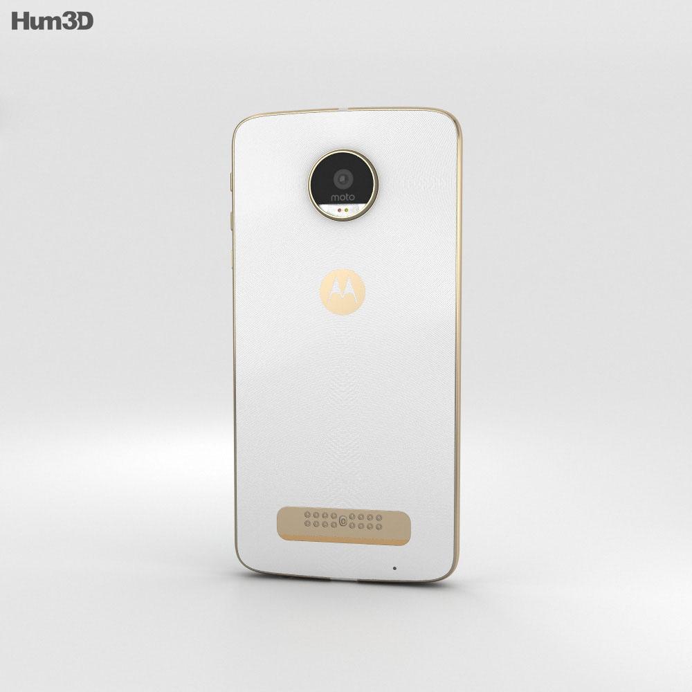 Motorola Moto Z Play White 3d model