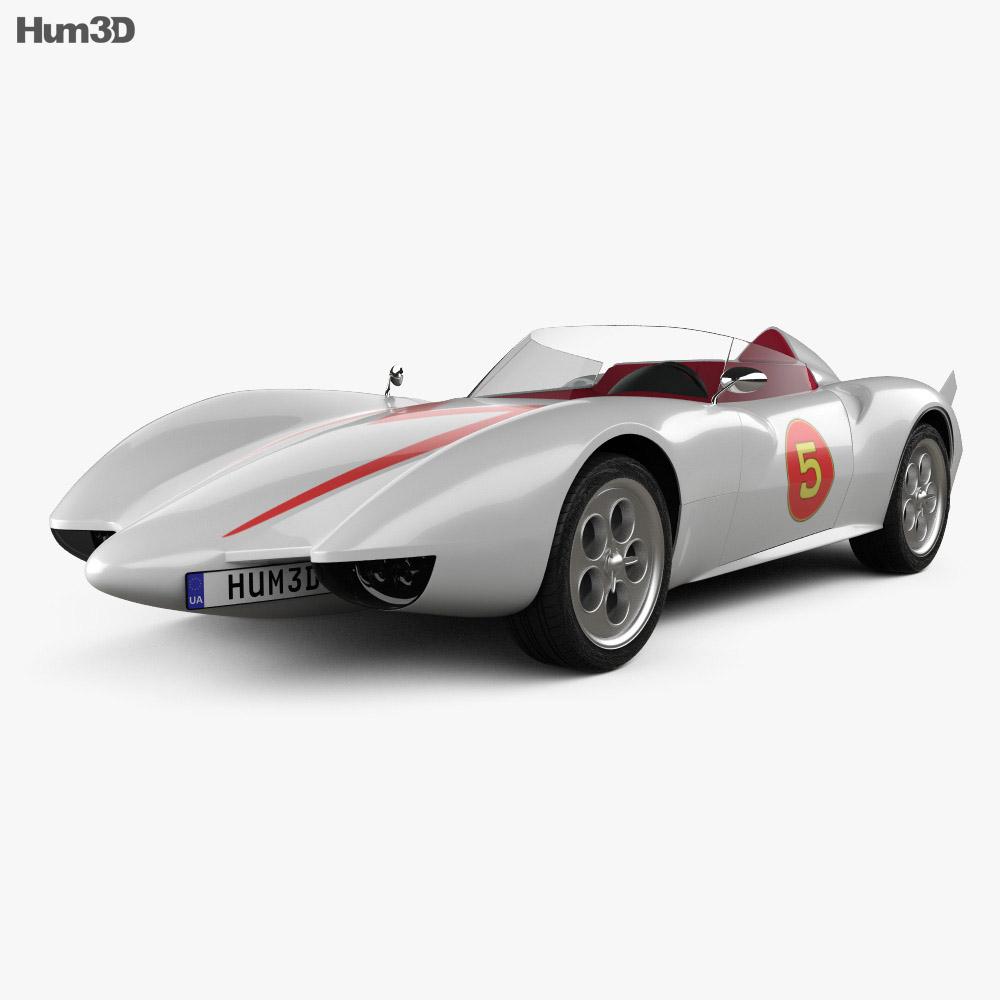 Speed Racer Mach 5 1997 3d model