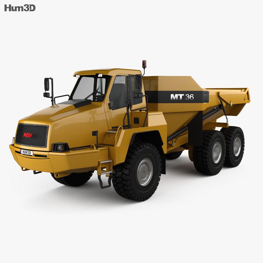 Moxy MT36 Dump Truck 2011 3d model