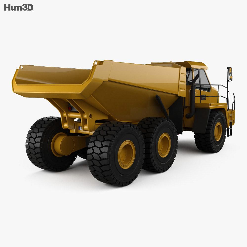 Moxy MT51 Dump Truck 2011 3d model