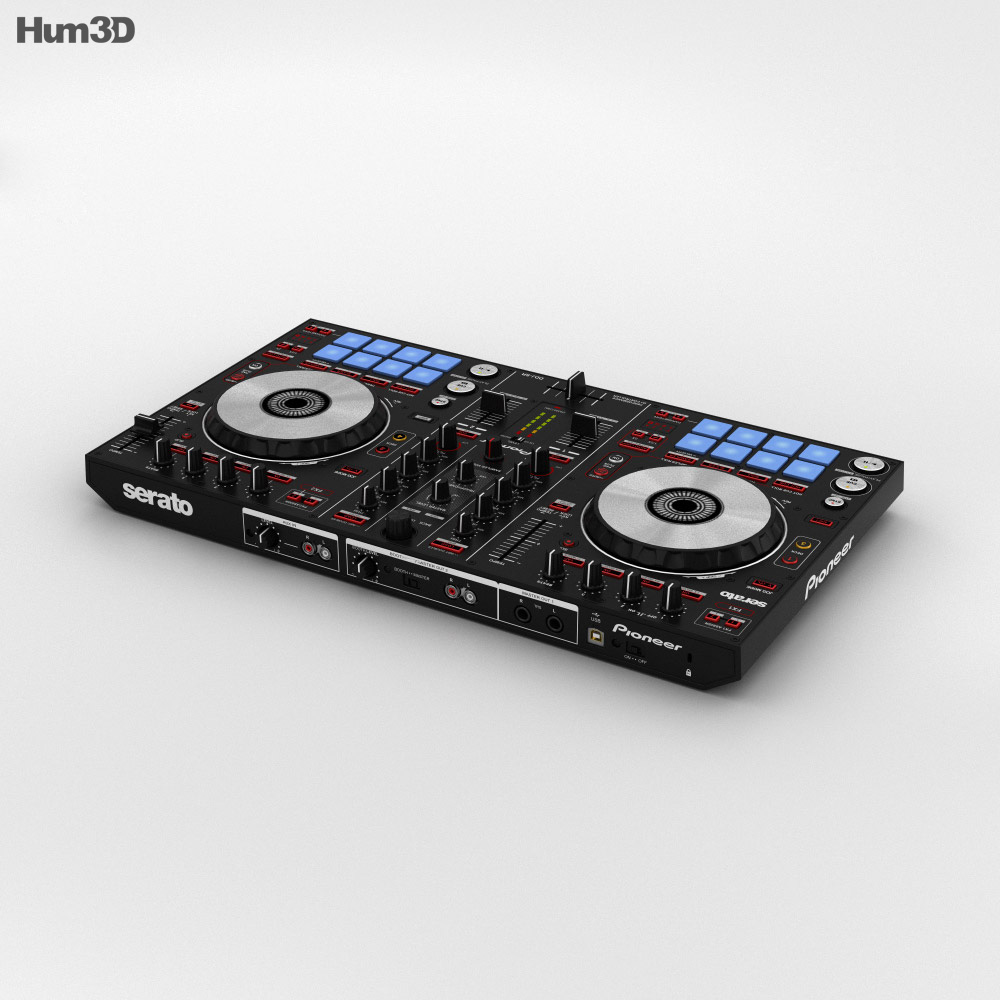 Pioneer DDJ-SR DJ Controller 3d model