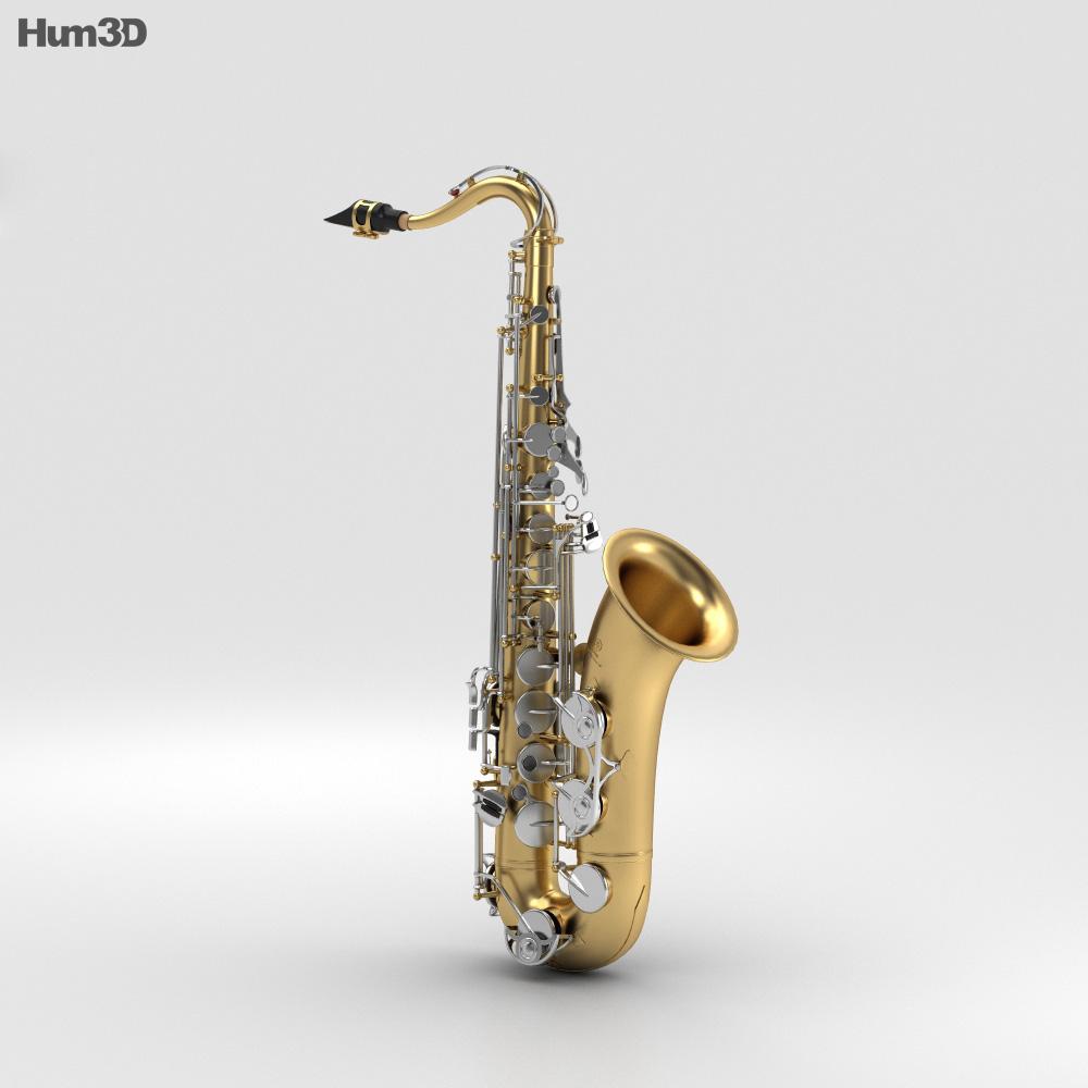 Saxophone Yamaha YTS-26 3d model