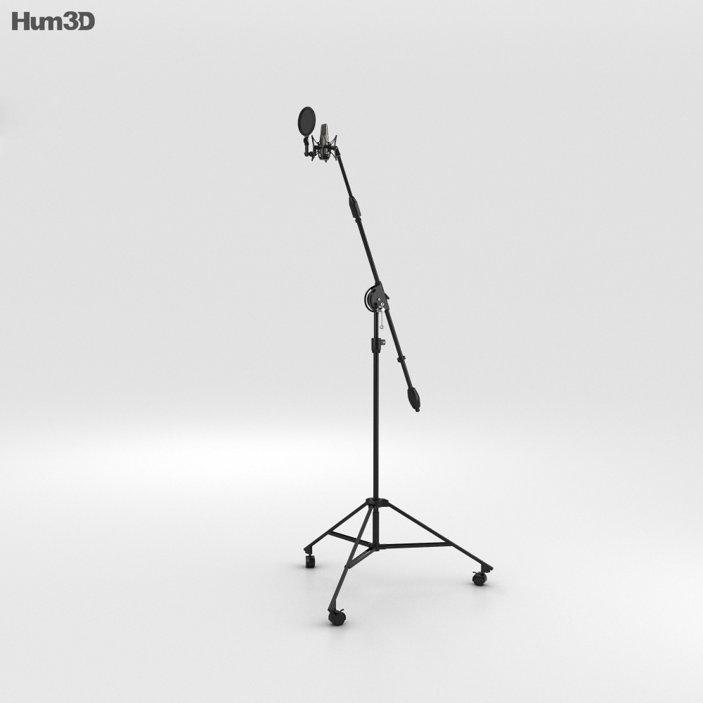 3D model of Studio Microphone