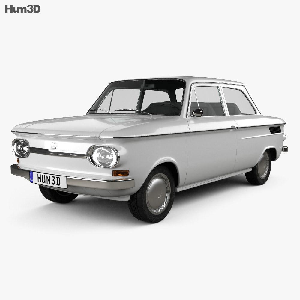 nsu prinz 1000 1961 3d model vehicles on hum3d. Black Bedroom Furniture Sets. Home Design Ideas