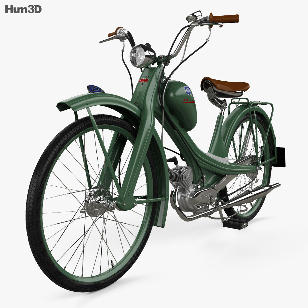 NSU Quickly N 1953 3d model