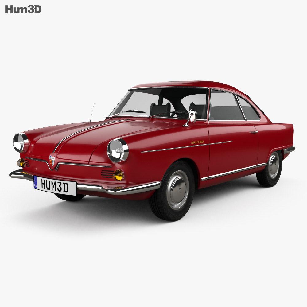 NSU Sport Prinz 1958 3d model