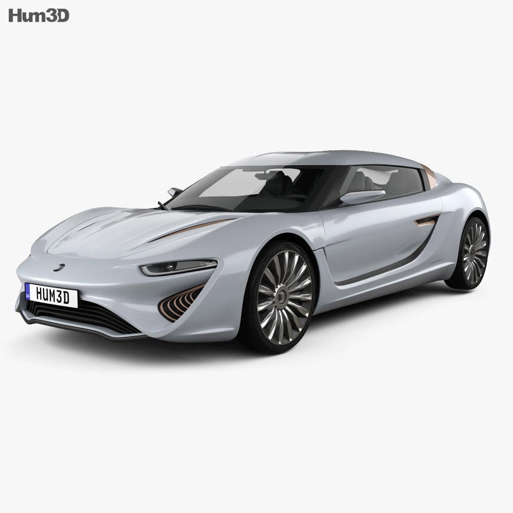Quant e-Sportlimousine 2014 3d model