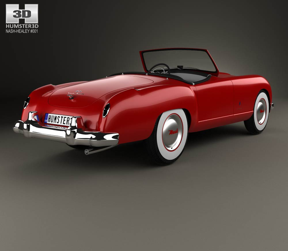 Nash Healey Roadster 1952 3d model