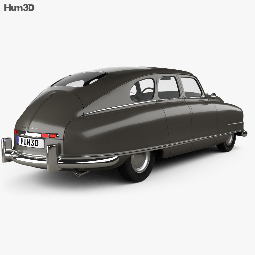 Nash Ambassador 1949 3d model