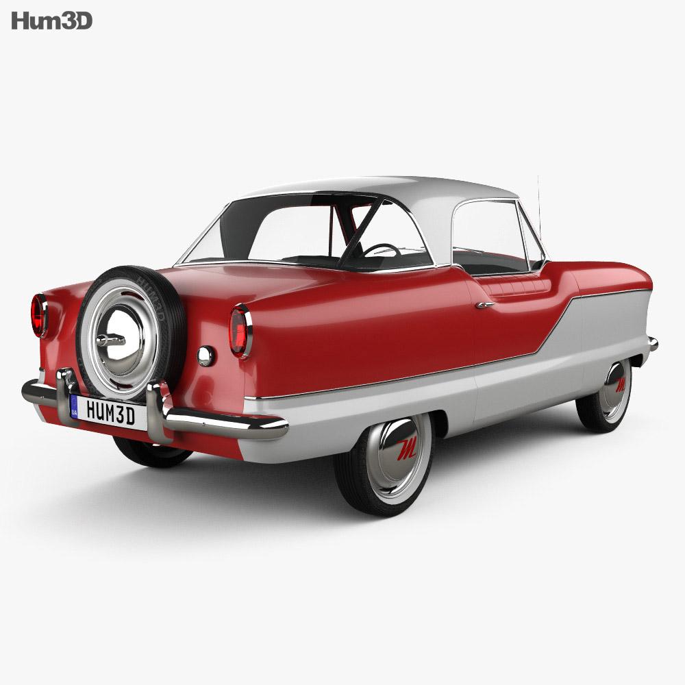 Nash Metropolitan 1956 3d model
