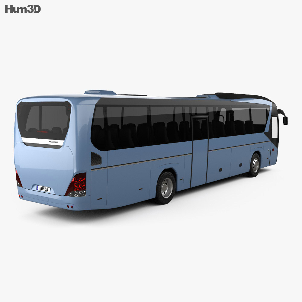 Neoplan Jetliner Bus 2012 3d model