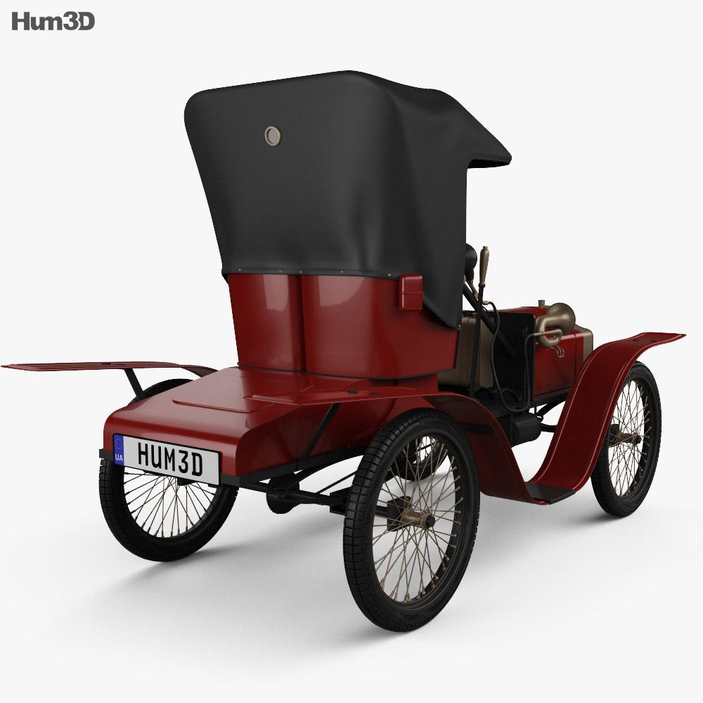 New Axa 1898 3d model